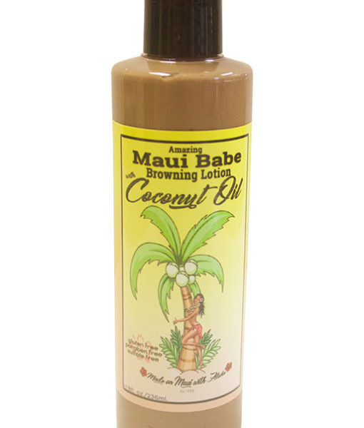 8 oz Browning Lotion with Coconut Oil