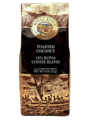 Royal Kona Coffee Co. Toasted Coconut 8 oz