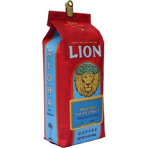 Lion Hazelnut 10 oz
