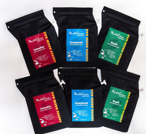 Brew Bag Combo (set of 6 bags)