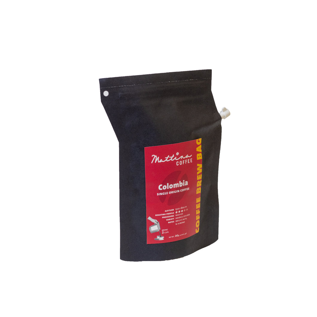 Brew Bag Colombia (6 bags)