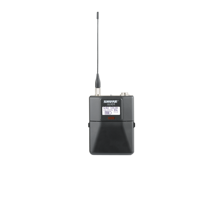Ulxd1 body pack transmitter