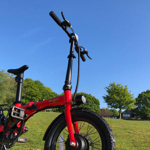 E-Go Lite + Electric Folding Bike