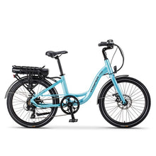 "Load image into Gallery viewer, Wisper 705 24"" Step Through Electric Bike (Available February 2021)"