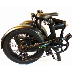 E-Go Max + Electric Folding Bike