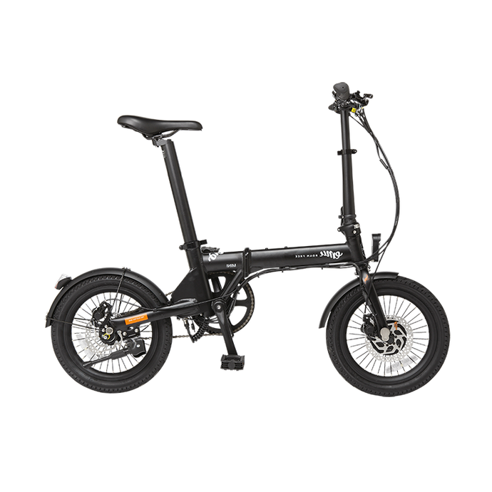 EMU Mini Folding Electric Bike in Black