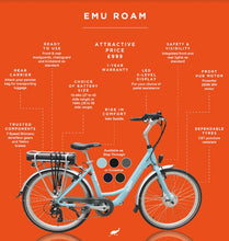 Load image into Gallery viewer, EMU Roam Step Through Electric Bike