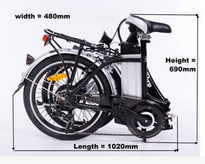 Roodog Bliss Folding Electric Bike