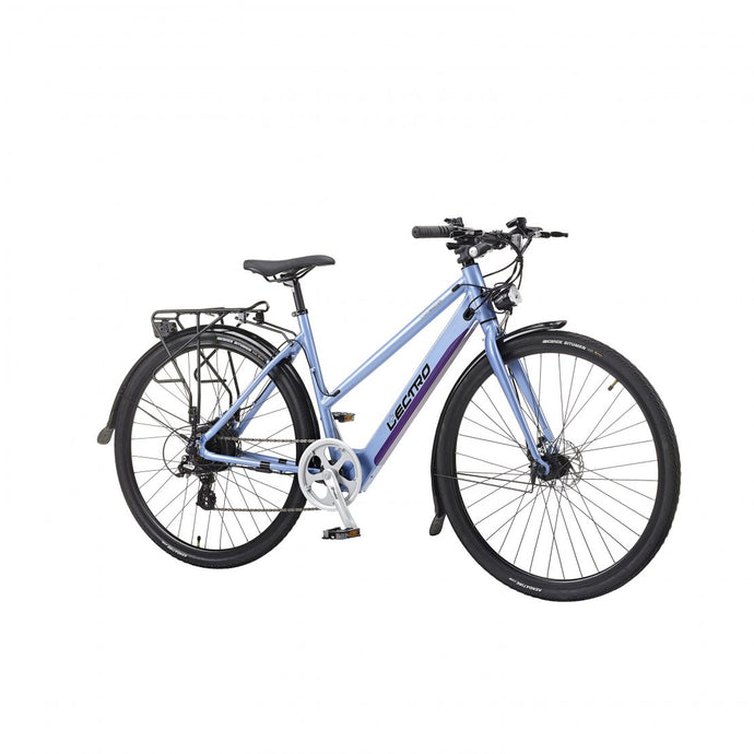 Lectro Ladies Townmaster Step Through Electric Bike - Blue