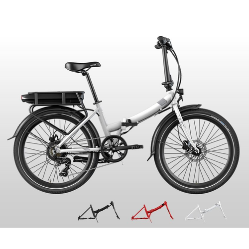 LEGEND Siena Electric Folding Step Through Bike