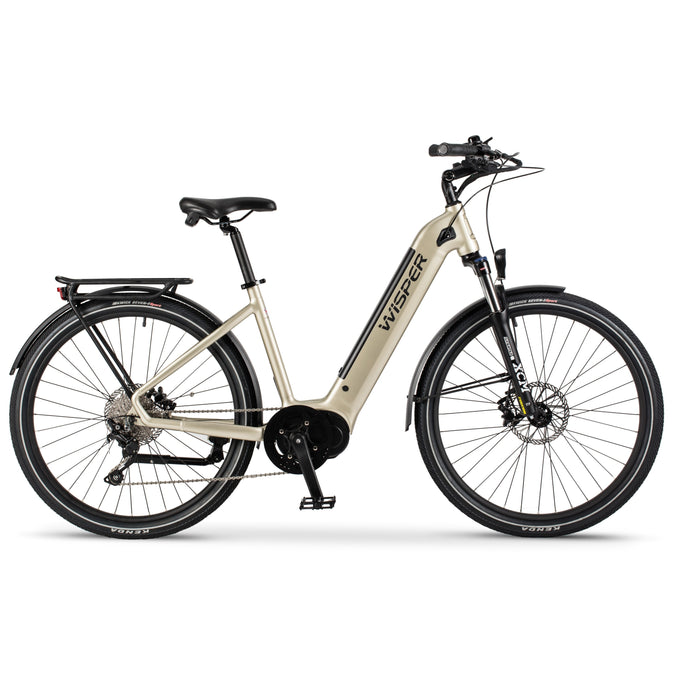 Wisper Wayfarer Step Through Electric Bike with Mid Motor