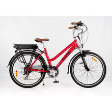 Load image into Gallery viewer, Roodog Polka Dot Ladies Electric Bike