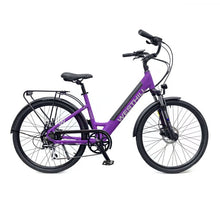 Load image into Gallery viewer, Westhill Classic Step Through Electric Bike in Purple