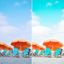 Load image into Gallery viewer, POOLSIDE // 15 MOBILE & 15 DESKTOP PRESETS Preset Collection The Globe Wanderer Presets