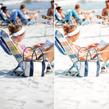 Load image into Gallery viewer, POOLSIDE // 6 MOBILE & 6 DESKTOP PRESETS Preset Collection The Globe Wanderer Presets