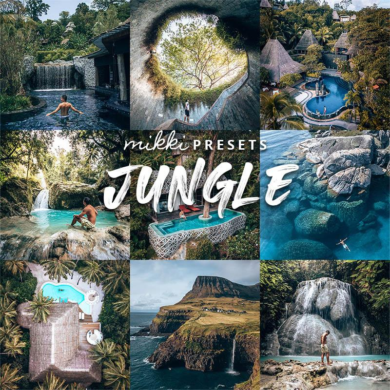 JUNGLE // 15 MOBILE & 15 DESKTOP PRESETS Preset Collection The Globe Wanderer Presets