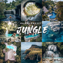 Load image into Gallery viewer, JUNGLE // 6 MOBILE & 6 DESKTOP PRESETS Preset Collection The Globe Wanderer Presets