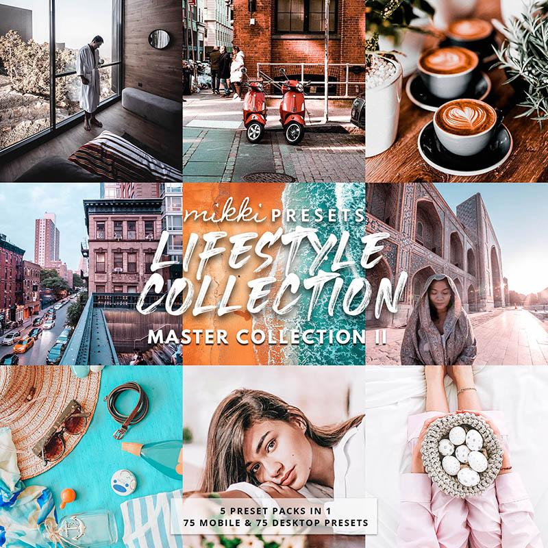 LIFESTYLE COLLECTION // 75 MOBILE & 75 DESKTOP PRESETS Preset Collection The Globe Wanderer Presets