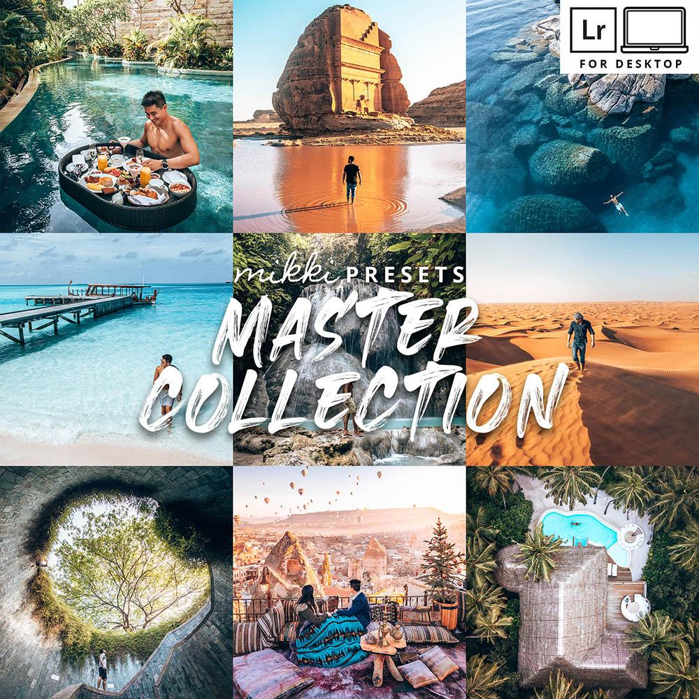 MASTER COLLECTION DESKTOP Desktop Presets The Globe Wanderer Presets