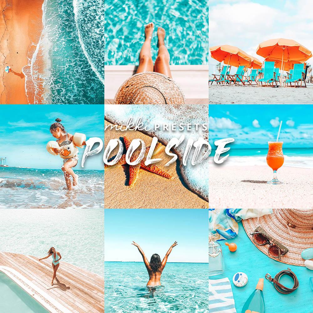 POOLSIDE // 15 MOBILE & 15 DESKTOP PRESETS Preset Collection The Globe Wanderer Presets