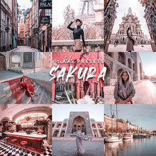 Load image into Gallery viewer, SAKURA // 15 MOBILE & 15 DESKTOP PRESETS Preset Collection Mikki Presets