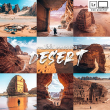 Load image into Gallery viewer, DESERT DESKTOP PRESETS Desktop Presets The Globe Wanderer Presets