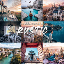 Load image into Gallery viewer, WANDERLUST COLLECTION // 75 MOBILE & 75 DESKTOP PRESETS Preset Collection The Globe Wanderer Presets