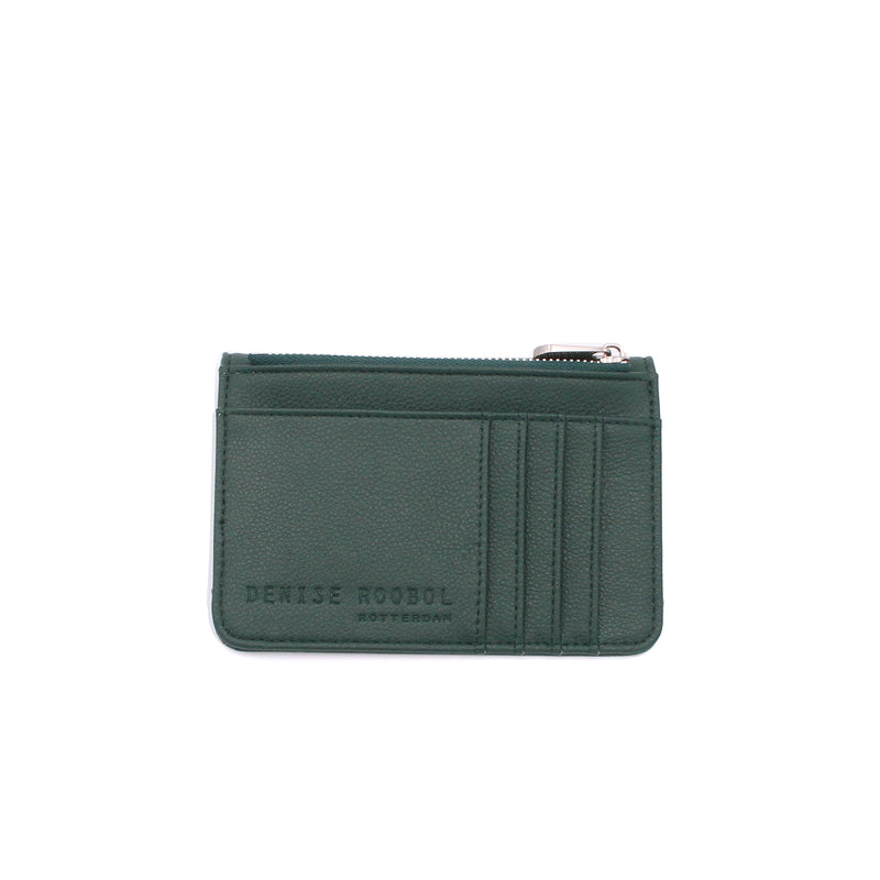 Mini Wallet - Dark Green + Marie Stella Maris Lip Balm