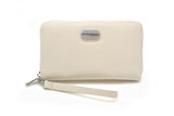 Wallet - Creme Stripe
