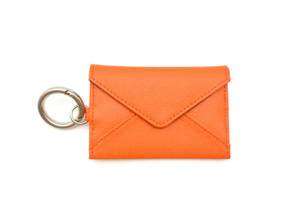 Keyholder Envelope - Orange Stripe