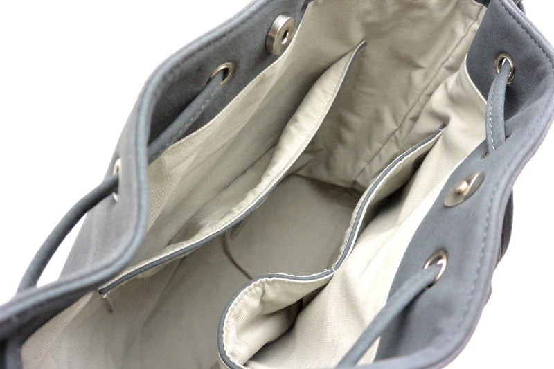 Bucket Bag - Dark Grey Nubuck