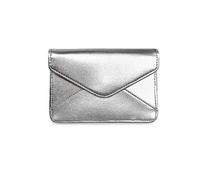 Mini Wallet - Silver + Marie Stella Maris Lip Balm