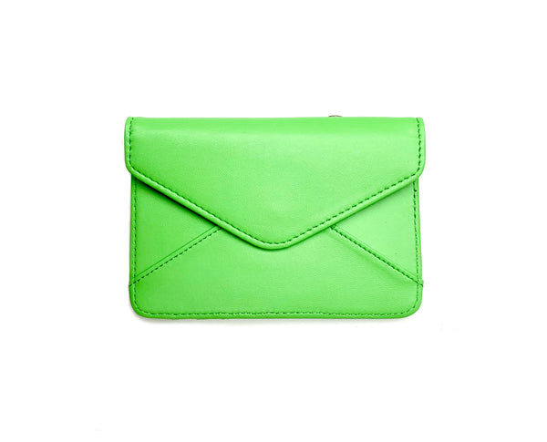 Mini Wallet - Neon Green