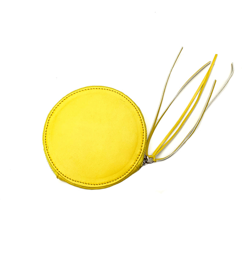Circle Wallet - Yellow