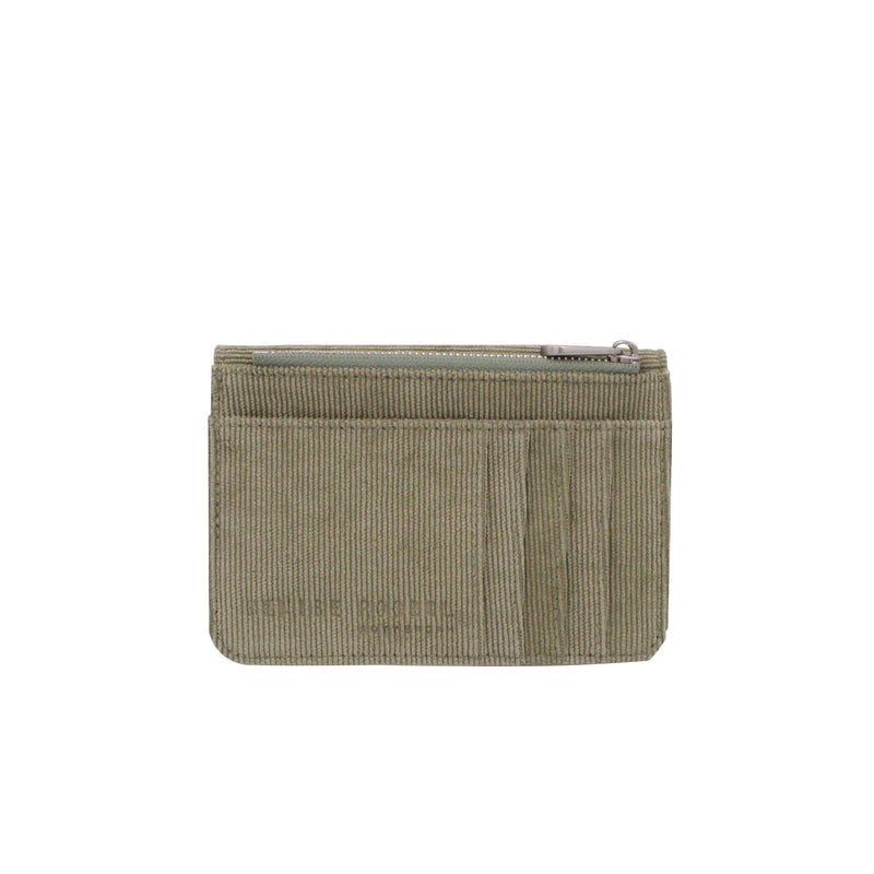 Mini Wallet - Green Rib Velvet
