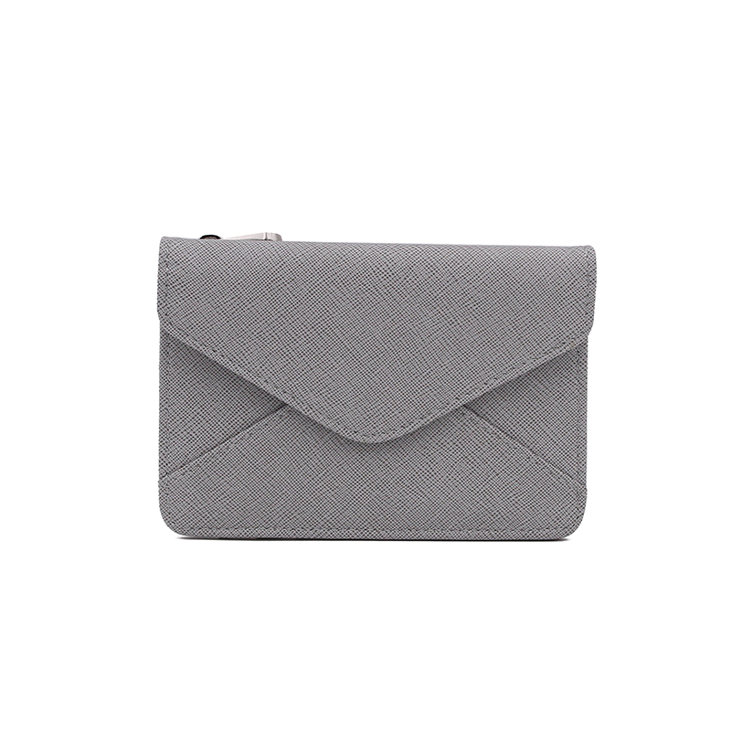 Mini Wallet - Grey Stripe