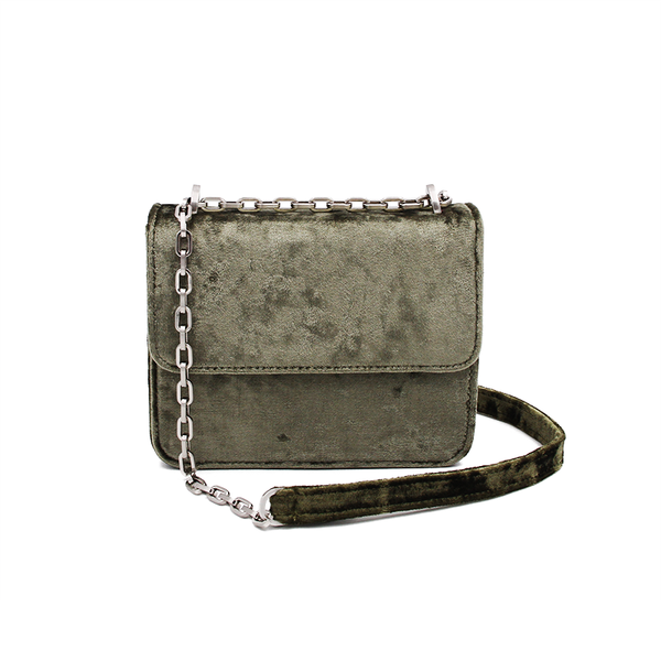 Mini Cruise Bag - Army Velvet