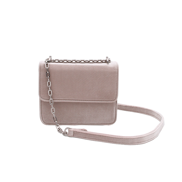 Mini Cruise Bag - Nude Velvet