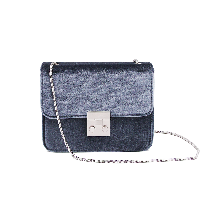 Day & Night Bag - Darkblue Velvet