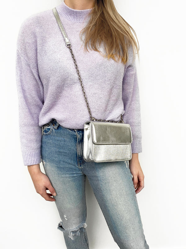 Mini Cruise Bag - Silver