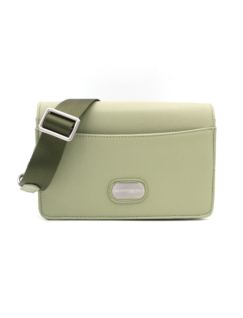 Clutch Bag - Milky Green