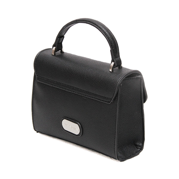 Mini Handle Bag - Black