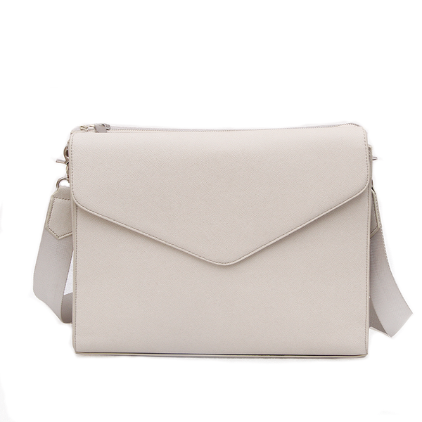 2 in 1 Bag - Creme Stripe
