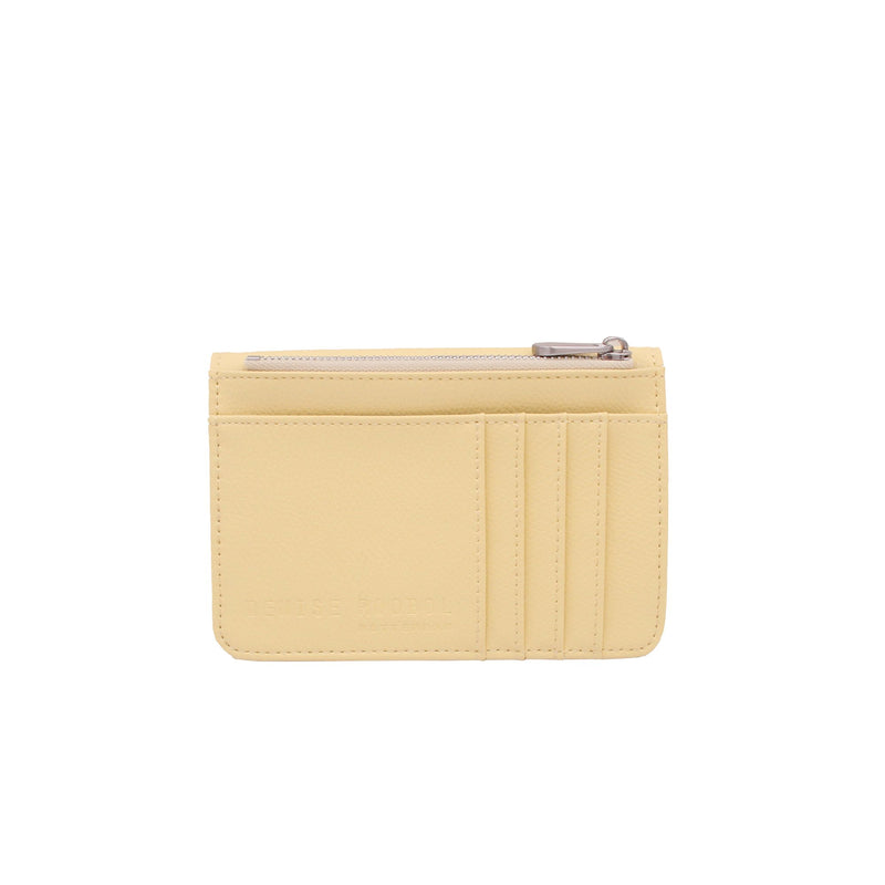 Mini Wallet - Milky Yellow