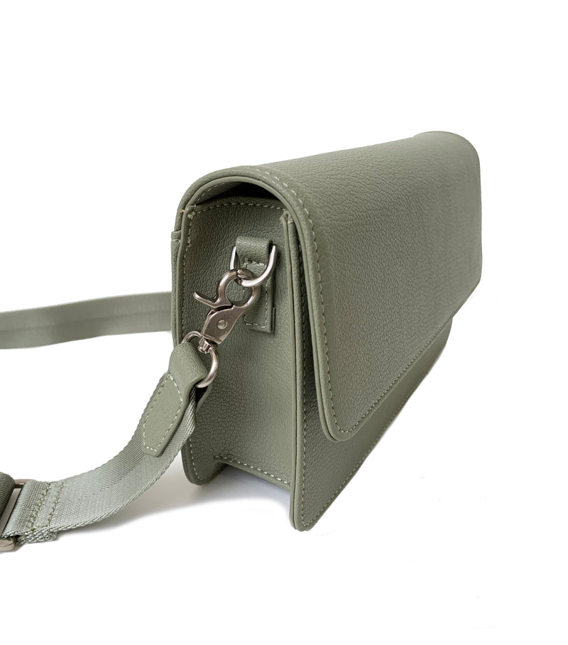 Clutch Bag - Green Mud
