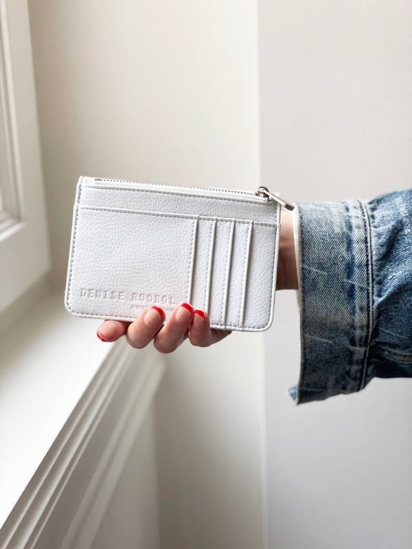 Mini Wallet - White