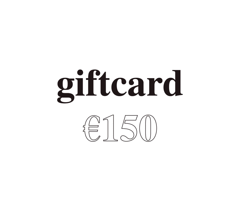 Digital Giftcard €150