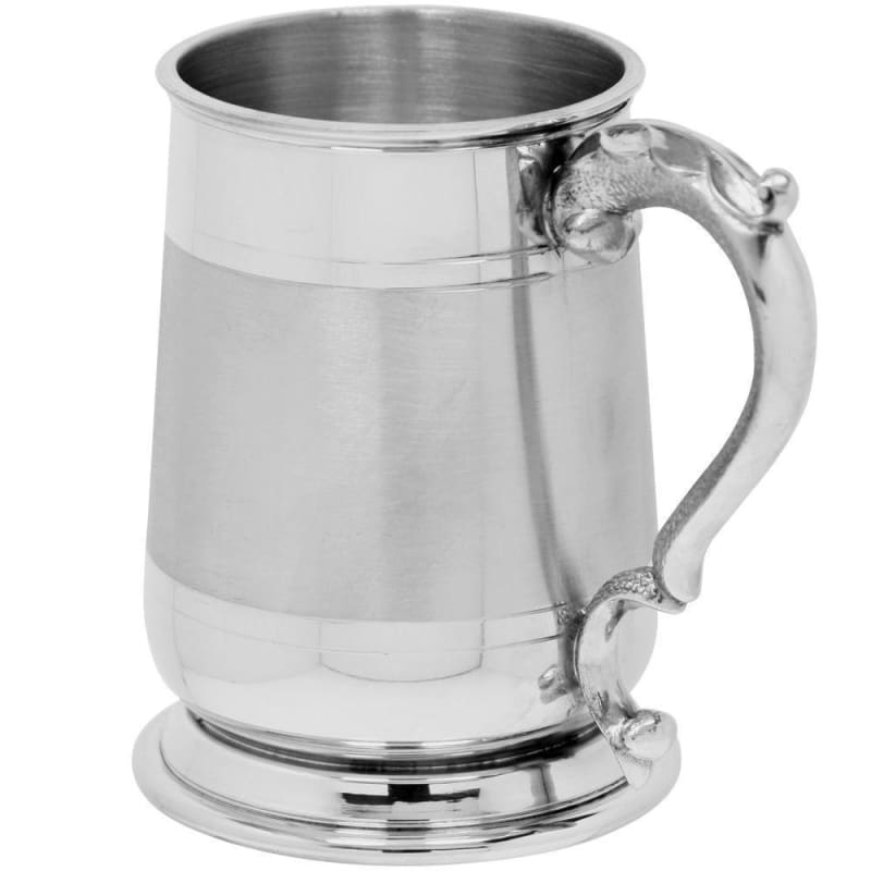 1 Pint Cavalier Satin Band Tankard