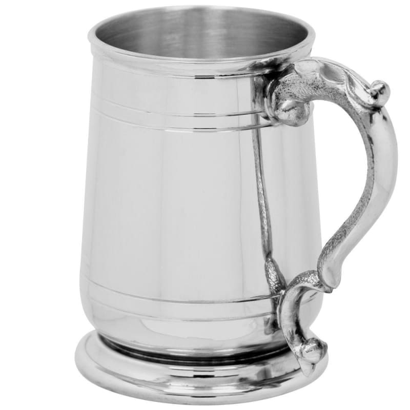 1 Pint Cavalier Tankard With Georgian Handle