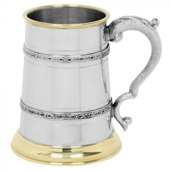 1 Pint Celtic Band Tankard
